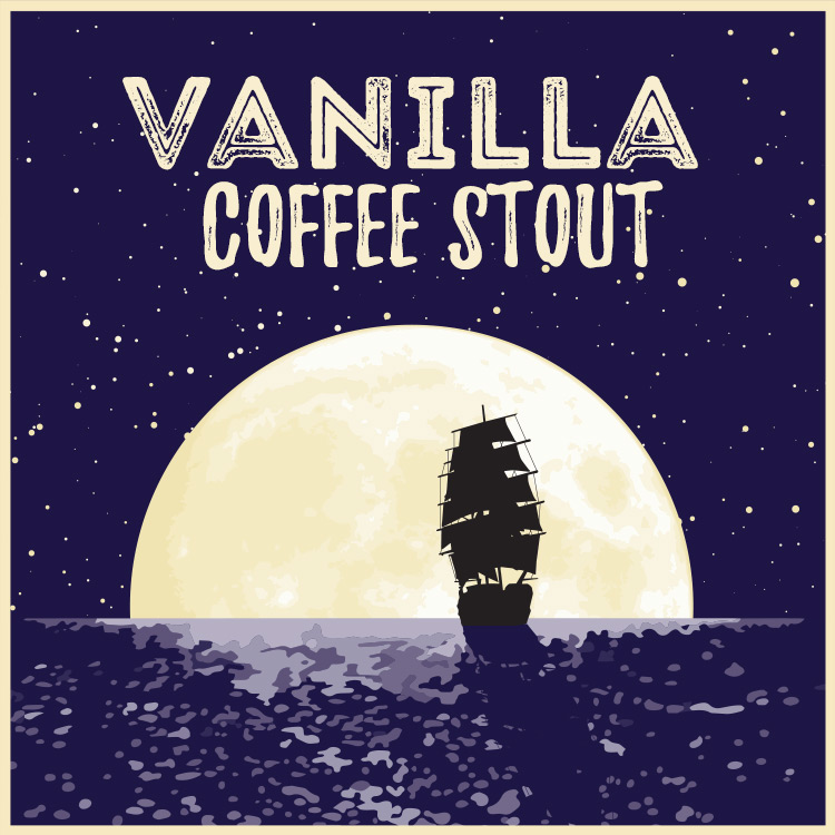 Vanilla Coffee Stout Beer