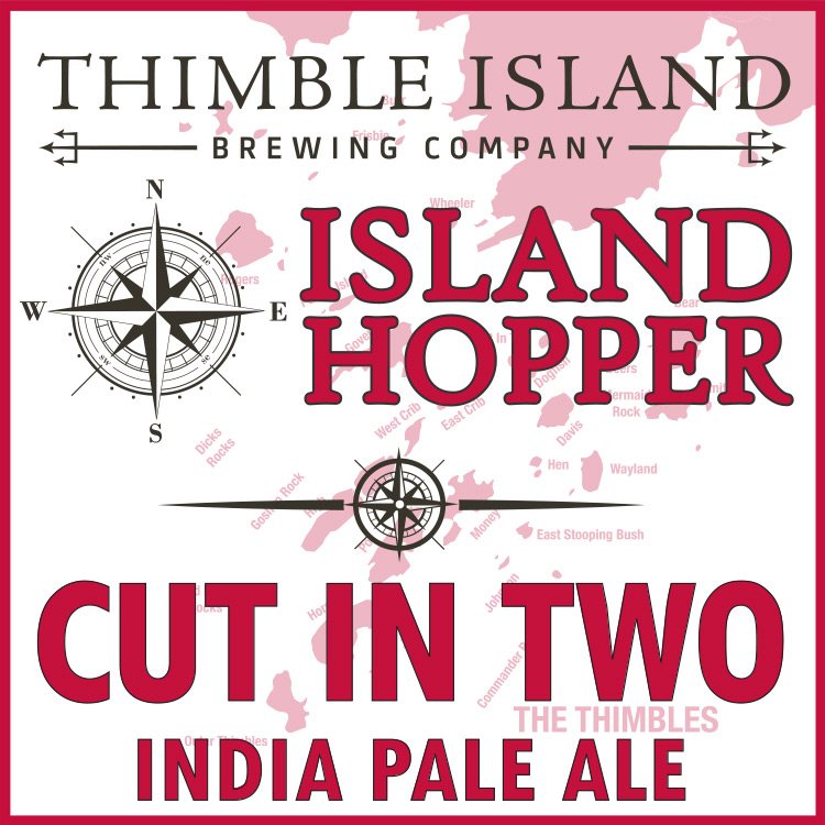 Island Hopper - Cut In Two New England IPA
