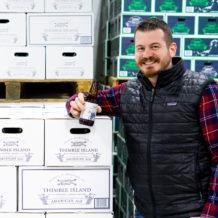 Owner of Thimble Island Brewery Justin Gargano